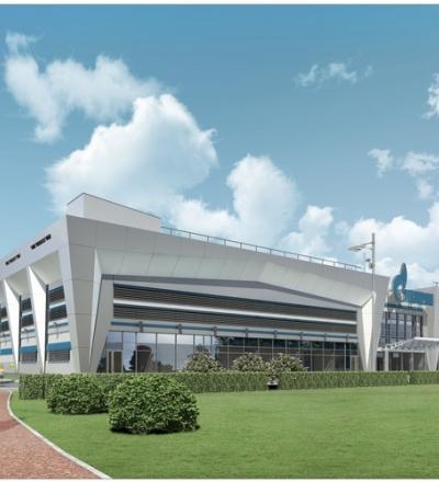Проект Ледового Дворца Спорта для Хоккея с Шайбой