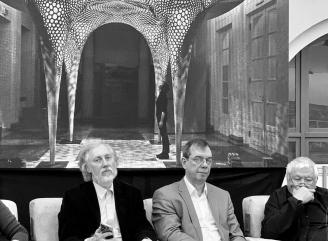 Глава архитектурной мастерской «АМЦ-ПРОЕКТ» выступил спикером и сомодератором на конференции «Социальные и культурные аспекты экоустойчивой архитектуры»