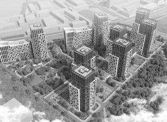 Получено разрешение на строительство жилого комплекса «БелАрт» на участках №13 и №30