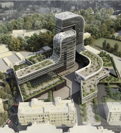 Многофункциональный комплекс в Киеве