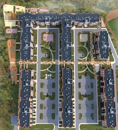 Проект благоустройства ЖК «Ясно-Янино» участок 8