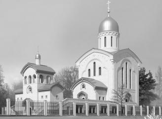 В храме памяти жертв теракта над Синаем пройдет первое богослужение
