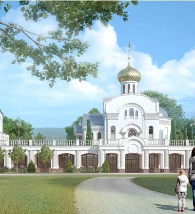 Храм в честь Собора Новомучеников и Исповедников